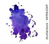 expressive abstract watercolor... | Shutterstock .eps vector #469061069