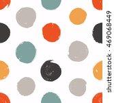 seamless circles. vector... | Shutterstock .eps vector #469068449