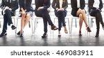 management career achievement... | Shutterstock . vector #469083911