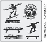 Collection Of Skateboarding...