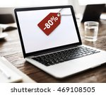 sale discount label tag... | Shutterstock . vector #469108505
