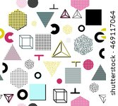 trendy geometric elements... | Shutterstock .eps vector #469117064