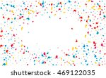 colored scattered confetti.... | Shutterstock .eps vector #469122035