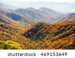 autumn mountain and colorful... | Shutterstock . vector #469153649