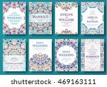set of old ramadan flyer pages... | Shutterstock .eps vector #469163111
