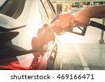 Car Refueling On Petrol Statio...