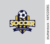 soccer badge | Shutterstock .eps vector #469220081