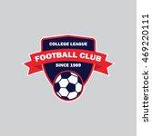 soccer badge | Shutterstock .eps vector #469220111