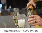 celebratory drinks | Shutterstock . vector #469249355