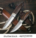 Hunting Knife Handmade On A...