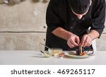 restaurant hotel private chef...   Shutterstock . vector #469265117