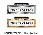 theatre sign  | Shutterstock .eps vector #469269461