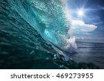 beautiful ocean background big... | Shutterstock . vector #469273955
