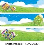 easter banners | Shutterstock .eps vector #46929037