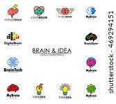 creative brain logo template | Shutterstock .eps vector #469294151
