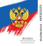 flag of russia. russian flag.... | Shutterstock .eps vector #469303355