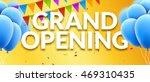 grand opening event invitation... | Shutterstock .eps vector #469310435