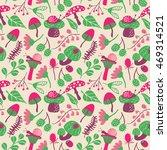 vector flat seamless pattern...   Shutterstock .eps vector #469314521