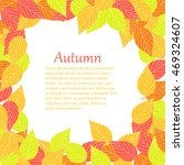 background with leaves | Shutterstock .eps vector #469324607