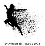 beautiful  sexy  dancing woman | Shutterstock .eps vector #469331975