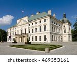 City Hall In Lubartow  Poland