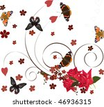 illustration with red...   Shutterstock .eps vector #46936315