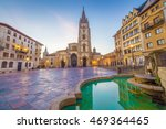 the cathedral of oviedo  spain  ... | Shutterstock . vector #469364465