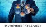 enterprise client is activating ... | Shutterstock . vector #469373837