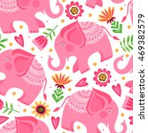 Template Seamless Pattern With...