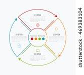 thin line infographic element.... | Shutterstock .eps vector #469383104