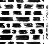 black grungy brushstrokes... | Shutterstock . vector #469384181