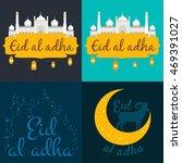 vector holiday named eid al... | Shutterstock .eps vector #469391027