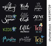 hand draw logo set. logo... | Shutterstock .eps vector #469399739