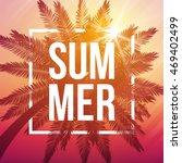 summer dusk background with... | Shutterstock .eps vector #469402499