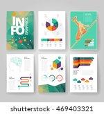 business brochure design... | Shutterstock .eps vector #469403321