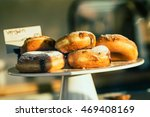 close up of cakestand with... | Shutterstock . vector #469408169