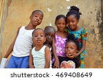 african   15 august 2016  young ... | Shutterstock . vector #469408649