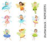Cute Fairies In Pretty Dresses...