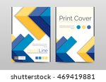 business annual report brochure ... | Shutterstock . vector #469419881