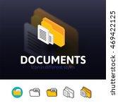 documents color icon  vector...