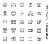 education vector icons 5 | Shutterstock .eps vector #469424129