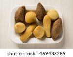 mixed brazilian snack. | Shutterstock . vector #469438289