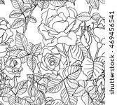 seamless pattern background set ... | Shutterstock . vector #469456541