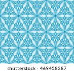 abstract flowers. blue.... | Shutterstock .eps vector #469458287