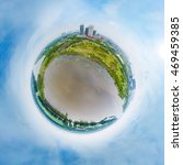 Small photo of 360-degree panorama of the round of the yantze river
