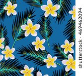 seamless exotic pattern with... | Shutterstock .eps vector #469462094