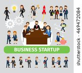 business people group vector.... | Shutterstock .eps vector #469472084