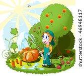 gardener   Shutterstock .eps vector #46948117