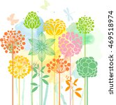 decorative meadow series   Shutterstock .eps vector #469518974