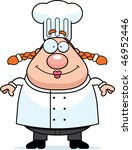 chef smiling | Shutterstock . vector #46952446